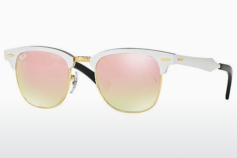 Zonnebril Ray-Ban CLUBMASTER ALUMINUM (RB3507 137/7O)