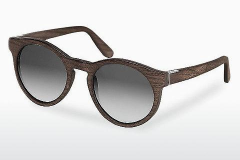 Zonnebril Wood Fellas Au (10756 black oak/grey)