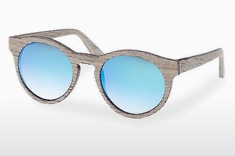 Zonnebril Wood Fellas Au (10756 chalk oak/blue)