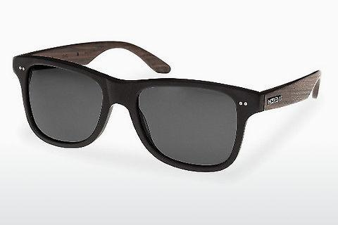 Zonnebril Wood Fellas Lehel (10757 rosewood/black/grey)