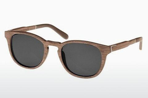Zonnebril Wood Fellas Bogenhausen (10762 walnut/grey)