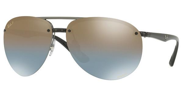 Ray-Ban   RB4293CH 876/J0 BLUE MIR GOLD GRADIENT POLARGREY