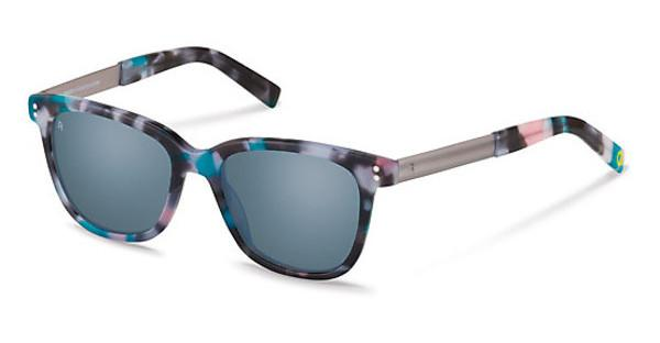 Rocco by Rodenstock   RR321 D blue mirror - 88%purple/ pink havana