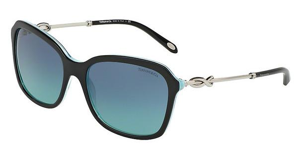 Tiffany   TF4128B 81939S BLUEBLACK/STRIPED BLUE
