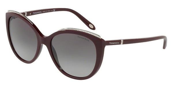Tiffany   TF4134B 81813C GREY GRADIENTDARK CHERRY