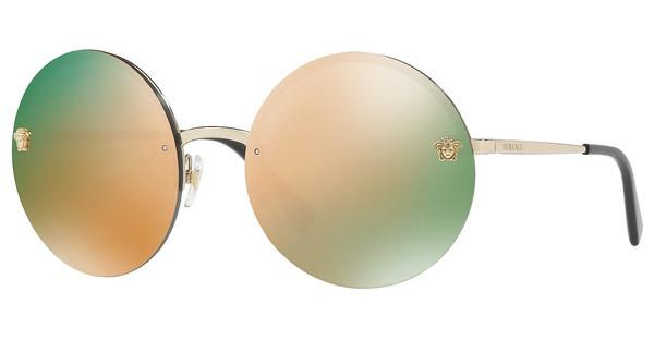 Versace   VE2176 12524Z GREY MIRROR ROSE GOLDPALE GOLD